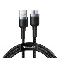 Baseus Cafule durable nylon cable USB 3.0 / micro USB SuperSpeed cable 2 A 1 m gray (CADKLF-D0G)