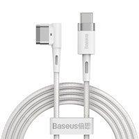 Baseus Zinc angular magnetic power cable for MacBook Power - USB Type C 60W 2m white L-shape (CATXC-W02)