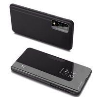 Clear View Case cover for Realme 7 Pro black