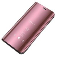 Clear View Case cover for Samsung Galaxy A10 / Galaxy M10 pink
