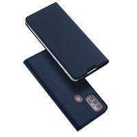 DUX DUCIS Skin Pro Bookcase type case for Lenovo Moto G30 / Moto G10 blue