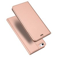 DUX DUCIS Skin Pro Bookcase type case for iPhone SE / 5S / 5 pink