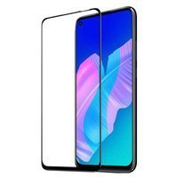 Dux Ducis 9D Tempered Glass Tough Screen Protector Full Coveraged with Frame for Huawei P40 Lite E black (case friendly)