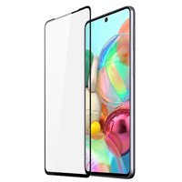 Dux Ducis 9D Tempered Glass Tough Screen Protector Full Coveraged with Frame for Samsung Galaxy A71 black (case friendly)