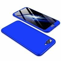 GKK 360 Protection Case Front and Back Case Full Body Cover Huawei Honor 10 blue