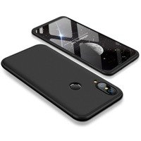 GKK 360 Protection Case Front and Back Case Full Body Cover Huawei P20 Lite black