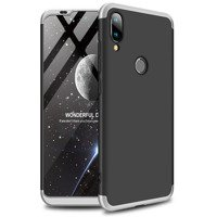 GKK 360 Protection Case Front and Back Case Full Body Cover Xiaomi Mi Play silver