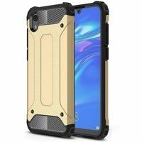 Hybrid Armor Case Tough Rugged Cover for Huawei Y5 2019 / Honor 8S golden