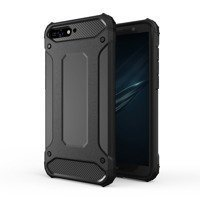Hybrid Armor Case Tough Rugged Cover for Huawei Y6 2018 black