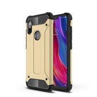 Hybrid Armor Case Tough Rugged Cover for Xiaomi Redmi Note 6 Pro golden