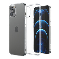 Joyroom New T Case for iPhone 13 Pro Max silicone cover transparent (JR-BP944 transparent)