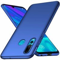 MSVII Simple Ultra-Thin Cover PC Case for Huawei P Smart Plus blue