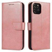 Magnet Case elegant bookcase type case with kickstand for Xiaomi Mi 11 pink