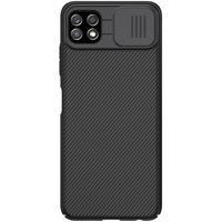 Nillkin CamShield Case Slim Cover with camera protection shield for Samsung Galaxy A22 5G black
