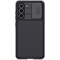 Nillkin CamShield Pro Case Slim Cover with camera protection shield for Samsung Galaxy S21 FE black