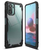 Ringke Fusion X durable PC Case with TPU Bumper for Xiaomi Redmi Note 10 / Redmi Note 10S black (FXXI0036)