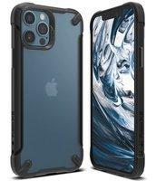 Ringke Fusion X2 PC Case with TPU Bumper for iPhone 12 Pro / iPhone 12 matt black (XMAP0007)