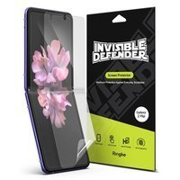 Ringke Invisible Defender 2x Full TPU Coverage Screen Protector for Samsung Galaxy Z Flip - case friendly (IDSG0009)