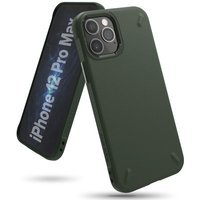 Ringke Onyx Durable TPU Case Cover for iPhone 12 Pro Max green (OXAP0043)
