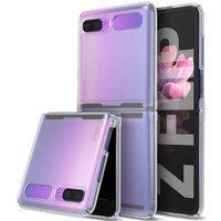 Ringke Slim Ultra-Thin Cover PC Case for Samsung Galaxy Z Flip half transparent (SLSG0046)