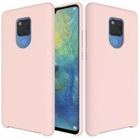 Silicone Case Soft Flexible Rubber Cover for Huawei Mate 20 pink