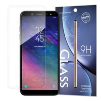 Tempered Glass 9H Screen Protector for Samsung Galaxy A6 2018 (packaging – envelope)