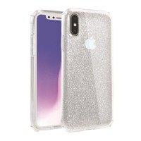 UNIQ case Clarion Tinsel iPhone Xs Max transparent / lucent clear