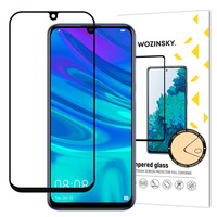 Wozinsky Tempered Glass Full Glue Screen Protector Full with Frame Case Friendly for Huawei P Smart 2020 / Huawei P Smart Plus 2019 / P Smart 2019 black