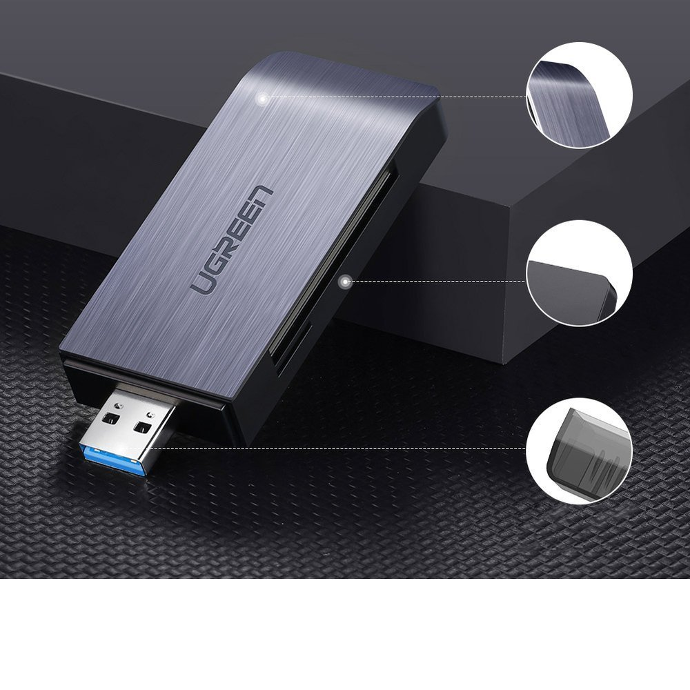PRO USB 3.0 Card Reader Works for Samsung Galaxy Tab A 8.0 LTE Adapter to Directly Read at 5Gbps Your MicroSDHC MicroSDXC Cards