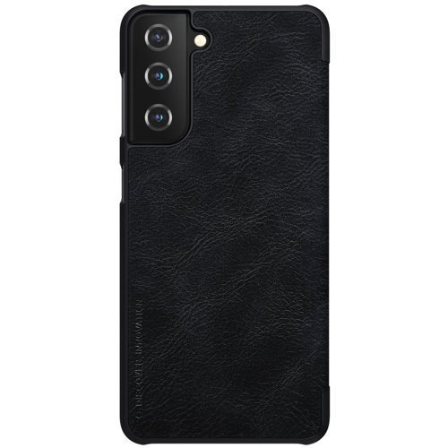 Nillkin Qin original leather case cover for Samsung Galaxy S21+ 5G (S21 Plus 5G) black