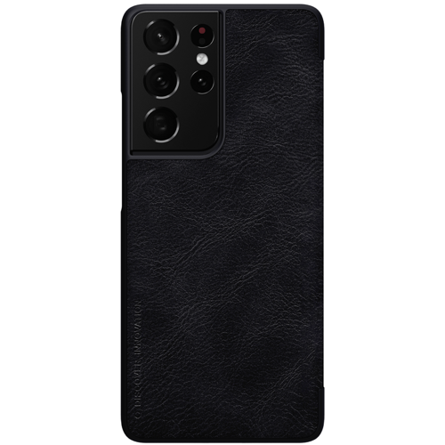 Nillkin Qin original leather case cover for Samsung Galaxy S21 Ultra 5G black