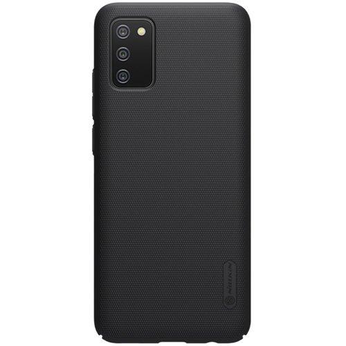 Nillkin Super Frosted Shield Case + kickstand for Samsung Galaxy A02s EU black