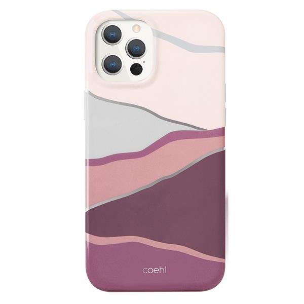 UNIQ Coehl Ciel case for iPhone 12 Pro Max pink