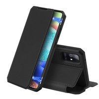 [PO ZWROCIE] DUX DUCIS Skin X kabura etui pokrowiec z klapką Samsung Galaxy A71 5G czarny
