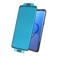 3D Edge Nano Flexi Glass folia szklana szkło hartowane na cały ekran z ramką Samsung Galaxy S20 Plus czarny (in-display fingerprint sensor friendly)
