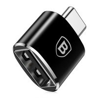 BASEUS ADAPTER TYPE-C TO USB/OTG BLACK