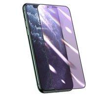 Baseus folia ochronna 3D na cały ekran 0,25 mm filtr Anti-blue Light do iPhone 11 Pro Max / iPhone XS Max czarny (SGAPIPH65S-HB01)