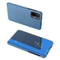 Clear View Case futerał etui z klapką Xiaomi Redmi Note 10 Pro niebieski