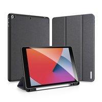 DUX DUCIS Domo składany pokrowiec etui na tablet z funkcją Smart Sleep podstawka iPad 10.2'' 2020 / iPad 10.2'' 2019 czarny