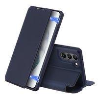 DUX DUCIS Skin X kabura etui pokrowiec z klapką Samsung Galaxy S21 FE niebieski