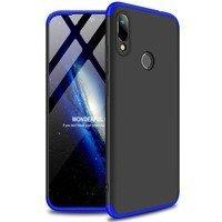 GKK 360 Protection Case etui na całą obudowę przód + tył Huawei Y6 2019 / Huawei Y6s 2019 czarno-niebieski