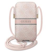 "Guess Torebka GUPHM4GDPI 6,1"" różowy/pink hardcase 4G Stripe"