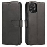 Magnet Case elegancki futerał etui pokrowiec z klapką i funkcją podstawki Samsung Galaxy A11 / M11 czarny