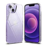 Ringke Air ultracienkie żelowe etui pokrowiec iPhone 13 mini brokatowo-przezroczysty glitter (A539E77)