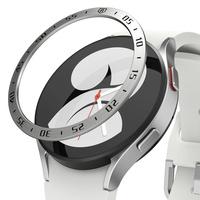Ringke Bezel Styling etui ramka koperta pierścień Watch 6 / 5 / 4 (44mm) srebrny (stal nierdzewna) (GW4-44-01)