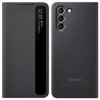Samsung Clear View Standing Cover futerał etui z inteligentną klapką Samsung Galaxy S21+ 5G (S21 Plus 5G) czarny (EF-ZG996CBEGEE)