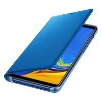 Samsung Wallet Cover etui kabura bookcase z kieszonką na kartę Samsung Galaxy A9 2018 niebieski (EF-WA920PLEGWW)