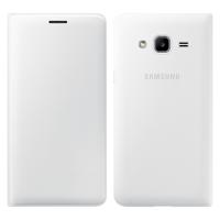 Samsung Wallet Cover etui kabura bookcase z kieszonką na kartę Samsung Galaxy J3 2016 biały (EF-WJ320PWEGWW)