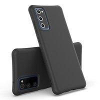 Soft Color Case elastyczne żelowe etui do Samsung Galaxy M51 czarny