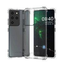 Wozinsky Anti Shock pancerne etui do Samsung Galaxy S21 Ultra 5G przezroczysty